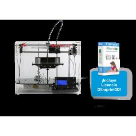Impresora 3D COLIDO 3.0 WiFi + dibuprint BASIC